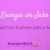 Neue Energie im Jahr 2017 – Der neue 9-Jahres-Zyklus beginnt