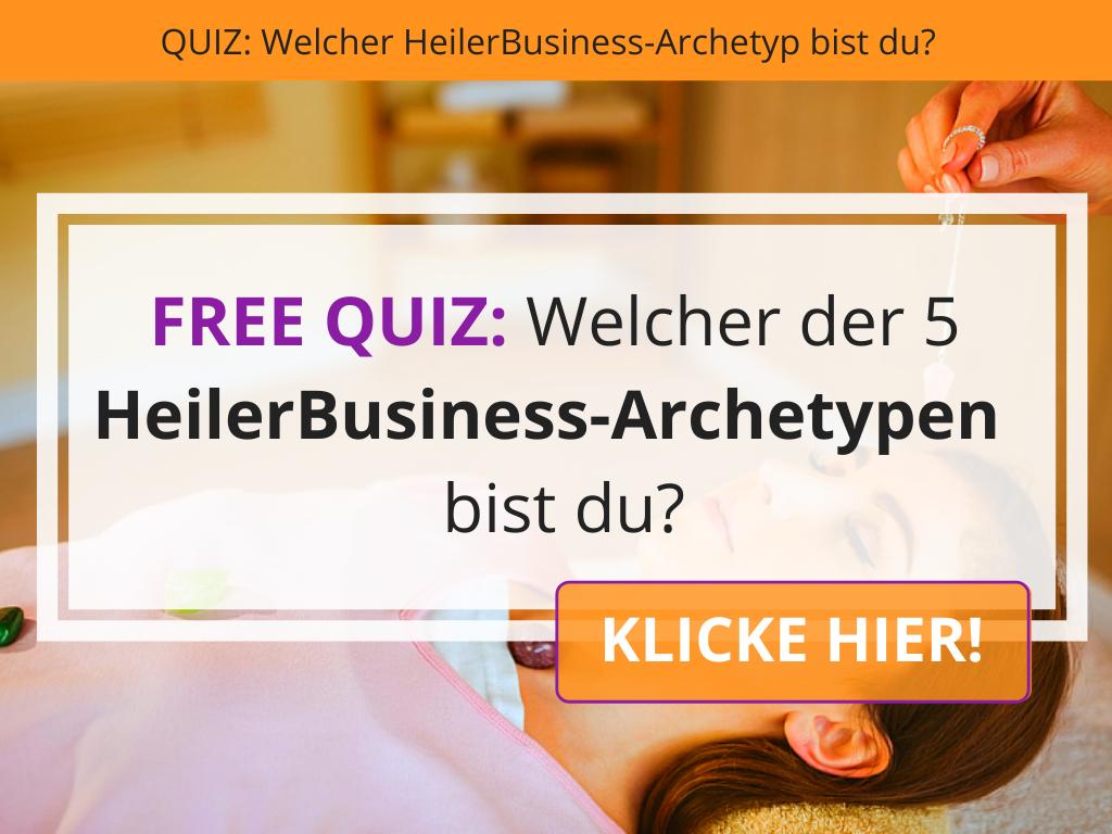 HeilerBusiness Archetypen Quiz - Persönlichkeitstests